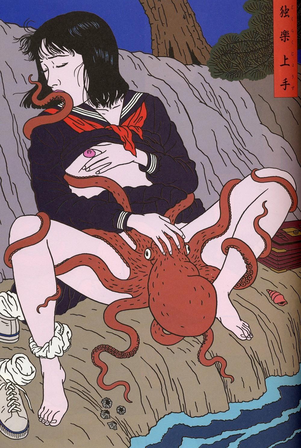 Жесткий секс с осьминогом мультик фото 590-2