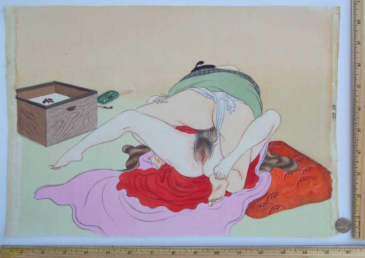 Порно рисунки японские