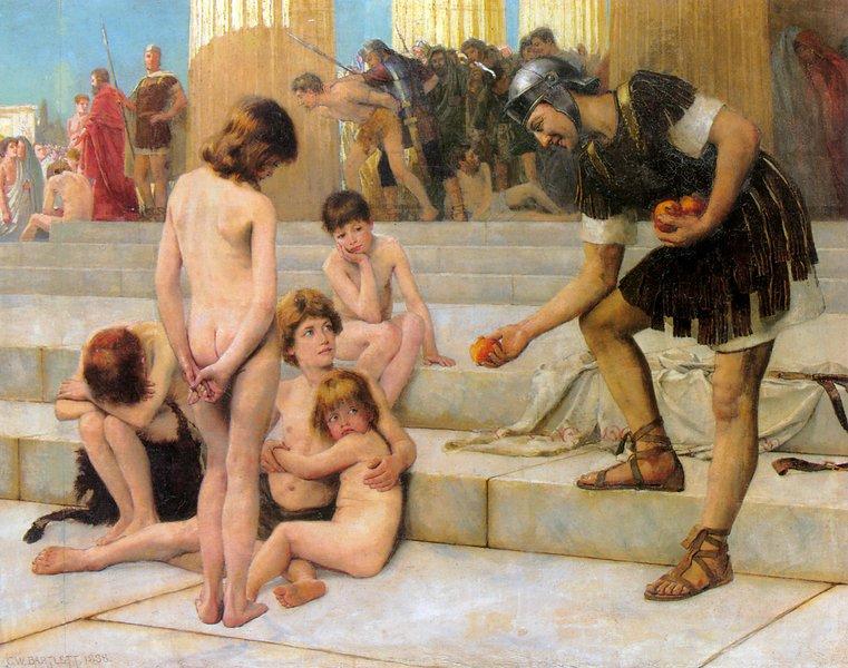Секс с рабыней в древнем риме